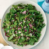 bean, pea & lentil salad Recipe - Quick and easy at woolworths.com.au