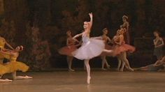 Alina Somova. Flawless Italian fouettes! These might actually be my favorite ballet turns