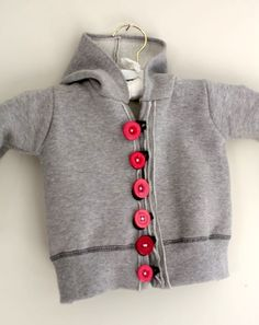 Easy Child's Sweatshirt Refashion