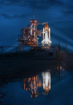 Final Night of the Space Shuttle