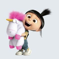 Dispicable me- he's so fluffy I'm gonna die!!!!!