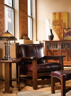 Stickley Eastwood Chair- crafted in upstate New York for 100+ years