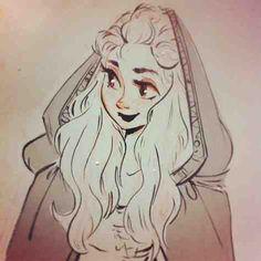 Hooded sketch