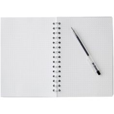 X A5 PP Spiral Notebook 180 Page White (7.54 PEN) ❤ liked on Polyvore featuring home, home decor and stationery