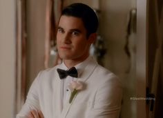 This is one of the images that will stick with me from the wedding. This is Blaine, looking at Kurt after Kurt asks Blaine what he thinks about getting married with Brittany and Santana. This is the face of a man that has wanted to marry the man he's looking at since the moment he realized he was in love with him.