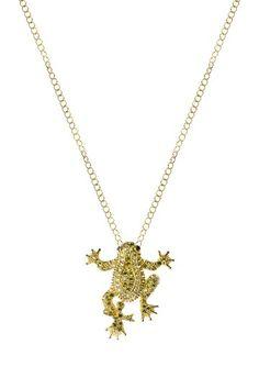 Frog pendant - looks like my tattoo (AP)