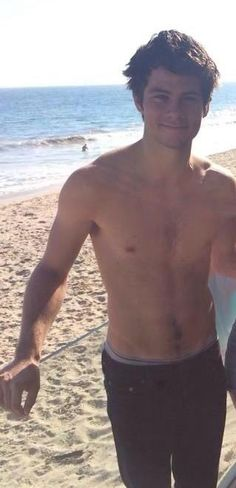 Chest hair, happy trail, hair, arms, hands, everything! {That's a trail I'd like to follow!)