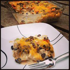 Gluten Free Mexican Lasagna Recipe | Simply Gluten Free | Gluten Free ...