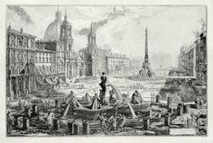 The Antiquarium - Antique Print & Map Gallery - Giovanni Battista Piranesi…