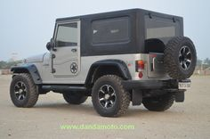 modified mahindra thar jeep wrangler hardtop