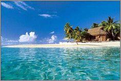 Fiji. This makes me sooo depressed! I want to go here for my honeymoon. So future husband, take me, please!!