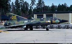 Saab J35B Draken aircraft picture