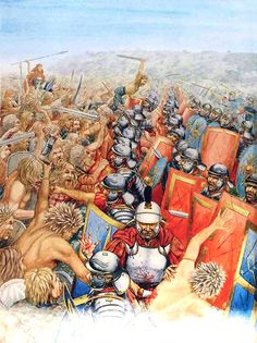 """The Roman army, led by Suetonius Paulinus, met the Iceni at Mancetter, near Watling Street, and defeated them utterly. Boadicea took a fatal dose of poison after the battle, rather than suffer the ignominy of capture"", James Field"