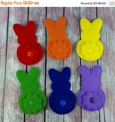 Super Summer Sale Bunny and tail Color Match, Quiet Book Page, board, color matching by stuffnjunkbyheidi on Etsy https://www.etsy.com/listing/269019798/super-summer-sale-bunny-and-tail-color