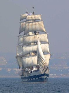 """""""Prince William"""" Under Full Sail in the dusky blues. - """"Prince William"""" Under Full Sail in the dusky blues. Moby Dick, Old Sailing Ships, Full Sail, Architecture Tattoo, Tug Boats, Sail Away, Set Sail, Tall Ships, Water Crafts"""