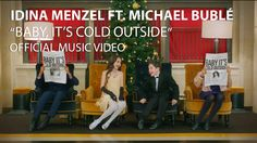 "Warner Bros. Records has produced a music video for Idina Menzel and Michael Bublé's version of the classic wintertime song ""Baby It's Cold Outside"" off Menzel's album Holiday Wishes. The video sta..."