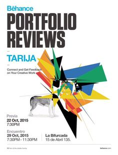 An explosion of talent waiting for you at the #BehanceReviews Tarija!