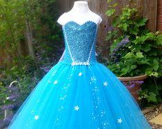 Disney Frozen Anna geïnspireerd Super Sparkly door BloomingTutusUK