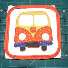 It's All About The Fabric: VW Camper Van Doorstop Guest Tutorial & Giveaway