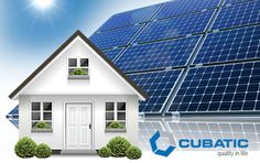 #CubaticGroup  #SolarEnergySolutions provide reliable energy sources at affordable cost structure