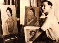 King Bhumibol is a good artist.