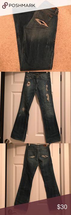 Armani Exchange Jean Good Condition- Size 0&30inch Length A/X Armani Exchange Jeans Boot Cut