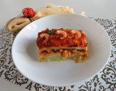Lasanha de camarão da ABIMAPI | Peixes e frutos do mar > Receitas com Camarão | Receitas Gshow