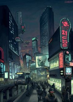 Neocity night adjust by FLOWERZZXU on deviantART