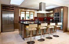 Johnaton Williams Collection Kitchen Layout, House Design, Modern, Table, Furniture, Fitted Kitchens, Home Decor, Kitchen Island, Google