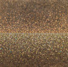 "stefano Maraner  ""Untitled"" mixed media/wood/alluminum on table"