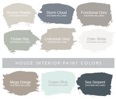Find information on each one of the paint colors used in my house. Name, brand, and where to find them. Read about why we chose each specific color.