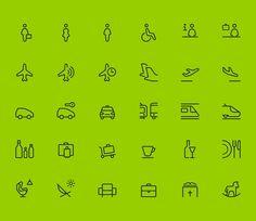 Aena - Visual Language on Behance