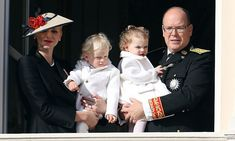 November 2016: Prince Jacques and Princess Gabriella joined their mom and dad — Princess Charlene and Prince Albert — on the balcony of the Monaco Palace for the country's National Day celebrations. <br>Photo: © Getty Images