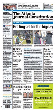 The Atlanta Journal-Constitution: Nov. 5, 2012