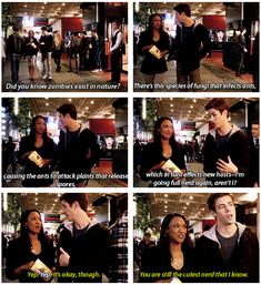 The Flash - Iris and Barry #1.3 #Season1 I found this to be, like, the coolest :))))