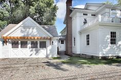 New 1850's Greek Revival Farmhouse - traditional - garage and shed - new york - Scott Design, Inc.