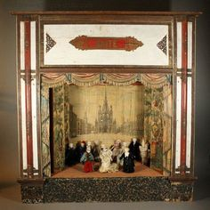 antique doll house | Antique Dolls Houses & Rooms Antique Dolls House Furniture Antique ...