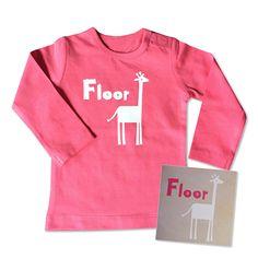 """Babytruitje """"Floor"""" #suededesign"""