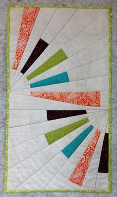 Modern quilting wall hanging                                                                                                                                                     More