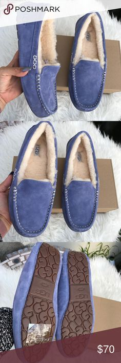 UGG authentic women's Ansley moccasins sz 11 New UGG authentic women's Ansley moccasins sz 11 New BOX is missing Lid. Itemcloset#dossei UGG Shoes
