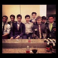 tommy bracco and the boys of Newsies! Theatre Nerds, Music Theater, Broadway Theatre, Theatre Actors, Ben Fankhauser, Hadley Fraser, Tuck Everlasting, Drama Class, Cute Celebrities
