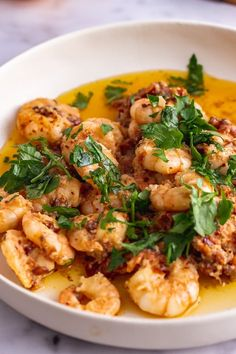 These chilli prawns are made with an amazing sun dried tomato and garlic butter, aleppo chilli flakes and a squeeze of lemon. Perfect served with a hunk of crusty bread and plenty of fresh parsley. Spicy Recipes, Fish Recipes, Seafood Recipes, Pasta Recipes, Crockpot Recipes, Dinner Recipes, Healthy Recipes, Chicken Recipes, Potato Recipes