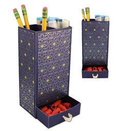 Pencil Holder with Drawer