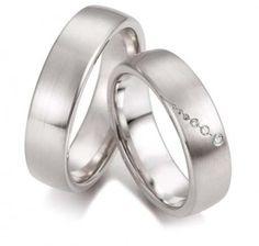 Kézzel készült karikagyűrű Imagine-4 fehérarany karikagyűrű, kívánság szerint sárga vagy vörös aranyból is Kedvezú ár, ingyenes karcmentesítés öt éven belül