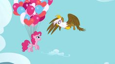 Catch Pinkie Pie Soarin' Over Equestria - on DVD now!