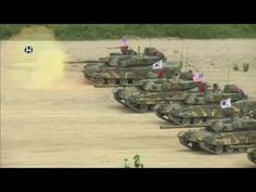Joint Combat Training by United States, Japan  South Korea in Pohang