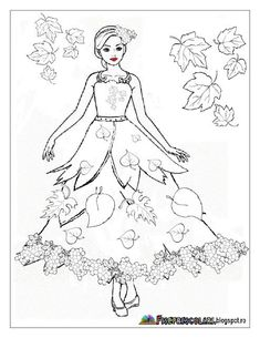 Fall Coloring Pages, Coloring For Kids, Coloring Books, Autumn Leaves Craft, Autumn Art, Fall Art Projects, Autumn Activities For Kids, Easy Fall Crafts, Printable Adult Coloring Pages