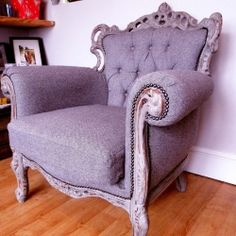 How to: Upcycle an old chair into a new Throne for your Home.