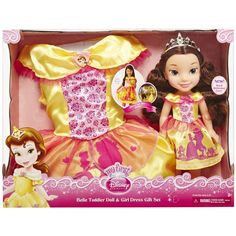 Belle Toddler Doll, Disney Princess Toddler Dolls, Disney Princess Belle, Baby Girl Toys, Toys For Girls, Girls Fashion Clothes, Halloween Costumes For Girls, Girls Dresses, Amazon Price