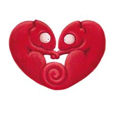 https://www.etsy.com/treasury/MTczMjYxOTB8MjcyMzA0MDgxOQ/red-hearts-for-february Valentine Art Valentine's Day Gift 1st Anniversary by Mimandarina, €12.00